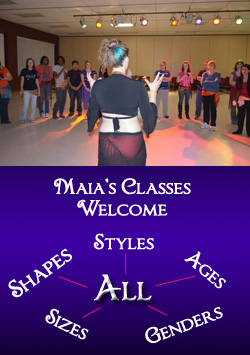 Maia Alexandra's engaging teaching style, bedazzling an entry-level class