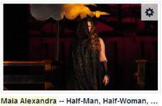 Maia Alexandra fusion Bellydance - Half Man / Half Woman